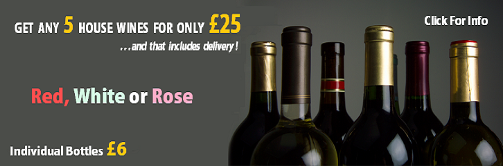 Buy 5 wines for �25 including delivery!